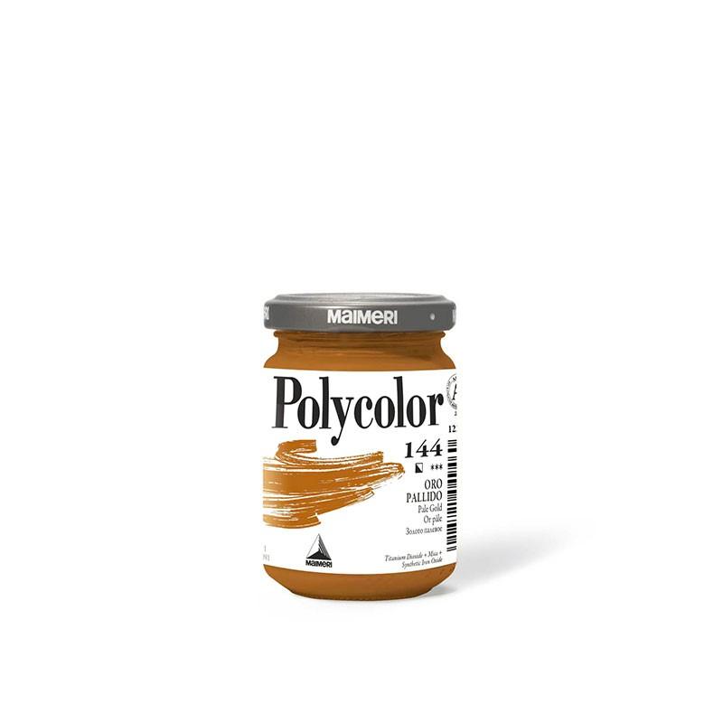 Colori Acrilici Maimeri Polycolor Oro Pallido 144