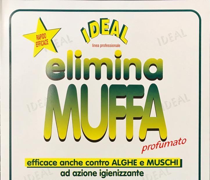 ELIMINA MUFFA SPRAY - BRUCIA LA MUFFE E ALGHE DALLE PARETI, PROFUMATO