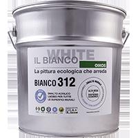 BIANCO 312 - SMALTO MURALE SMACCHIABILE LUCIDO