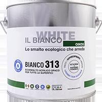 BIANCO 313 - SMALTO ALL'ACQUA UNIVERSALE ECOLOGICO OPACO