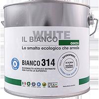BIANCO 314 - SMALTO ALL'ACQUA UNIVERSALE ECOLOGICO SATINATO