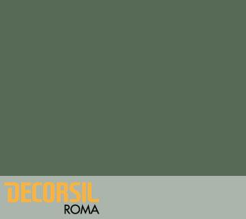 DECORSIL ROMA – PITTURA SILOSSANICA ALTA QUALITA'