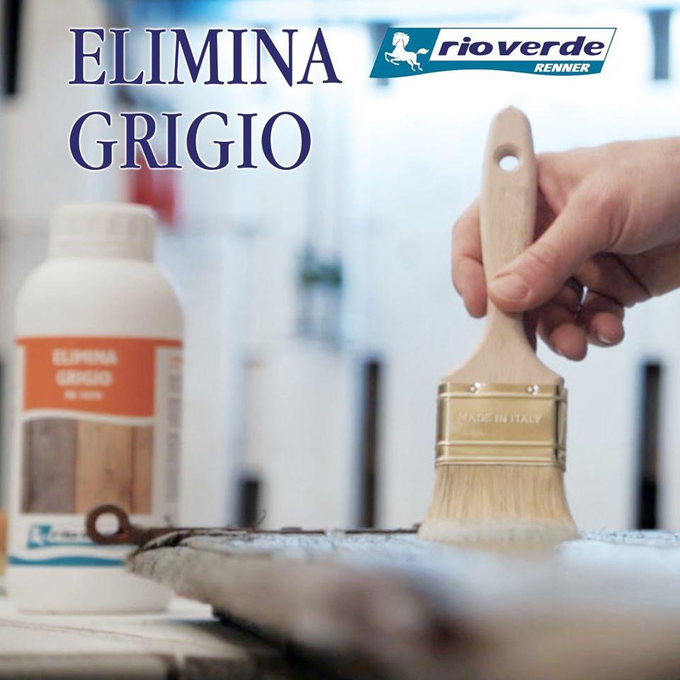 ELIMINA GRIGIO RR5050 per ripristinare legni degradati e ingrigiti dal sole